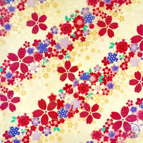 Cherry Blossoms Way White