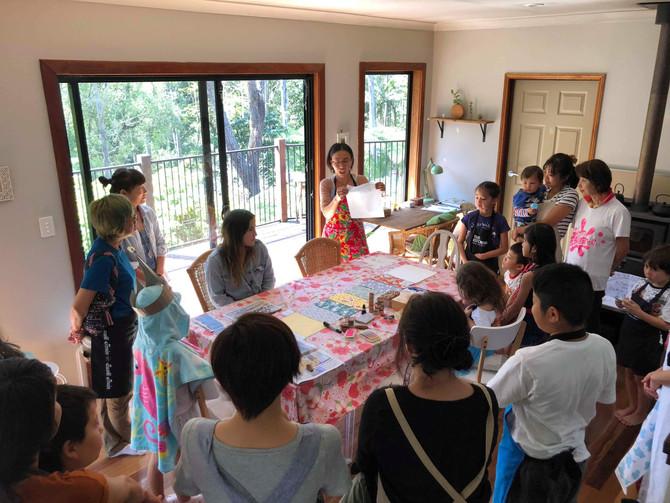 Workshop of eco master❤️エコマスターのワークショップ