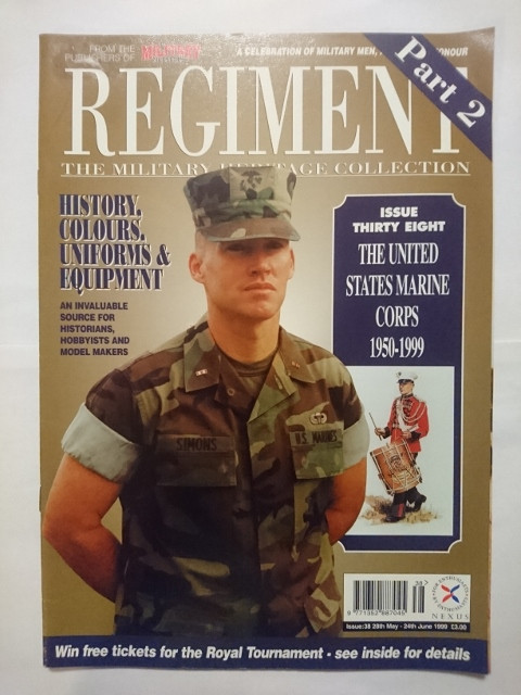 3a79a168f673 Regiments  Military Heritage Collection  38  The U.S. Marine Corp Pt 2   (1999