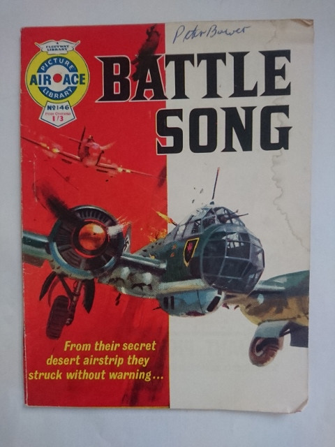 Air Ace Picture Library #146: 'Battle Song' (1963)