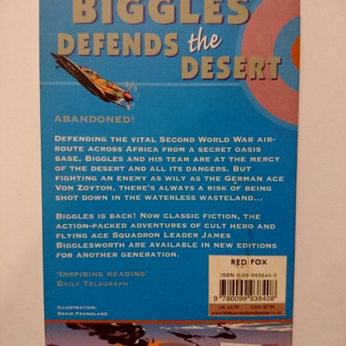 biggles defends the desert johns w e