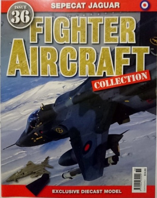 Fighter Aircraft Collection #36 'Sepecat Jaguar' Magazine