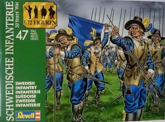 Revell Models: 30 Years' War Swedish Infantry (1:72 Scale