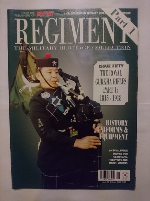 Regiments: Military Heritage Collection #50 'The Gurkhas Pt 1' (2000)