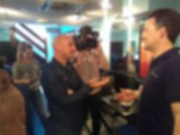 quantum tv interview BBC One Show