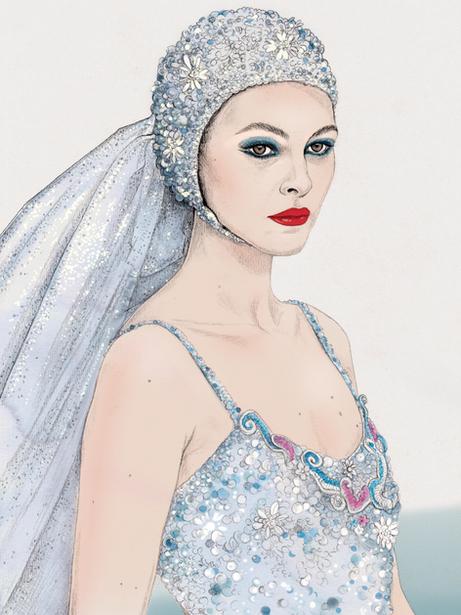 Chanel bride