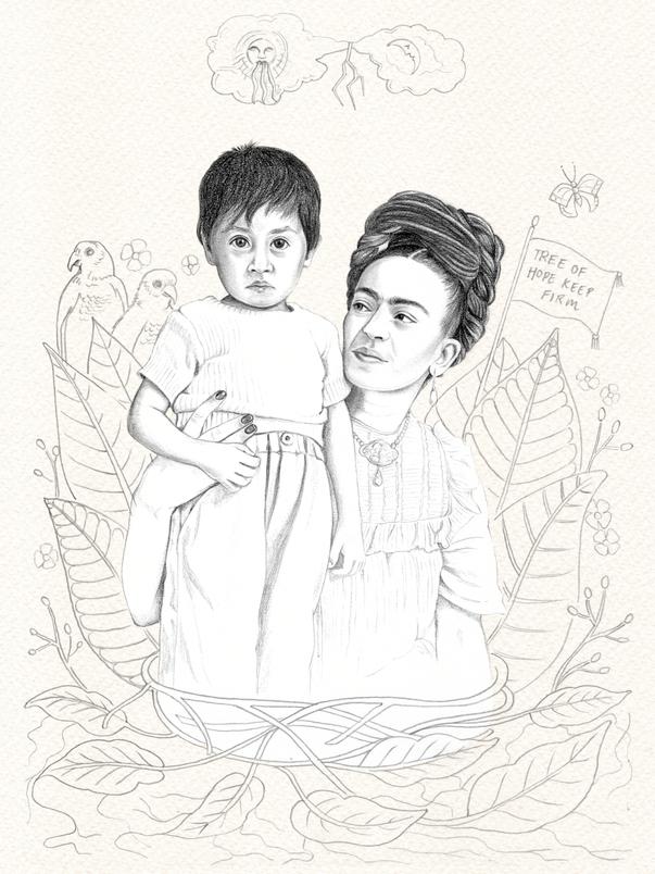 Frida and boy