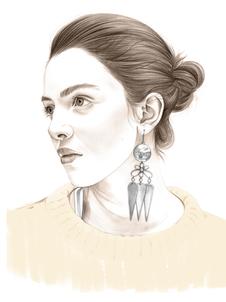 James earring