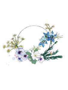 Ophelia's flowers