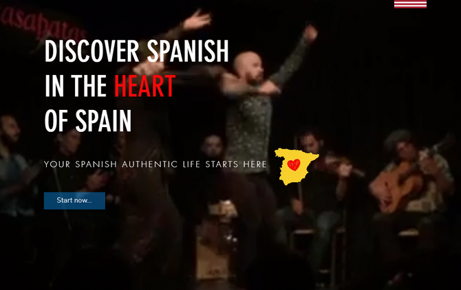 DICOVER SPANISH IN THE HEART OF SPAIN