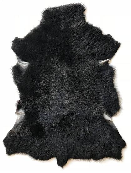 Tibetan Lambskin- Solid Black