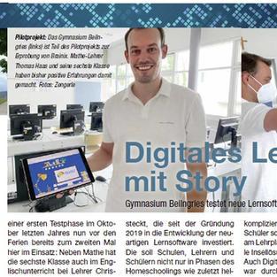 Digitales Lernen mit Story