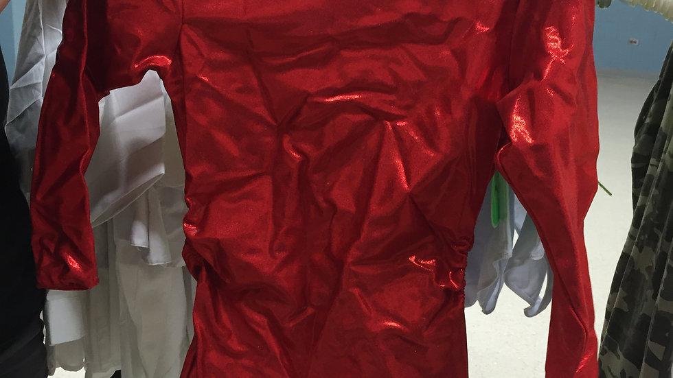 Robe rouge quantite 2 grandeur 6