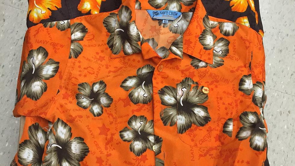 costume Chemise hawaïen grandeur 6-8-10 ans