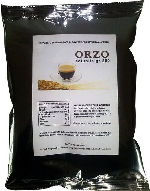 ORZO solubile istantaneo gr 250