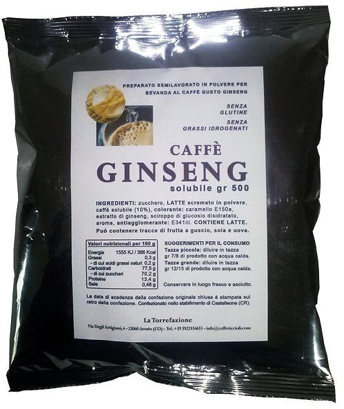 Caffè GINSENG solubile istantaneo gr 500