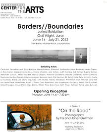 Borders/Boundaries Exhibit
