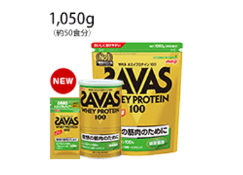 ザバス ホエイプロテイン100 抹茶風味 1,050g(約50食分)