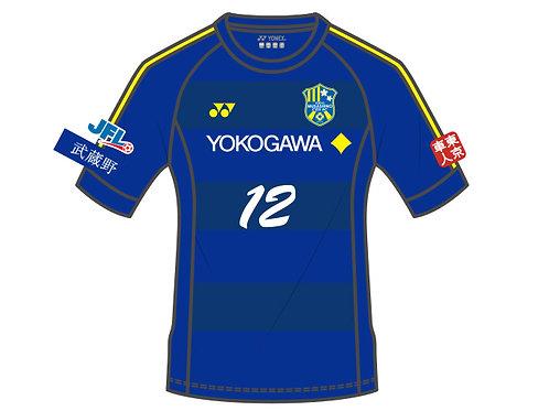 東京武蔵野シティFC 2019/2020 オーセンティックユニフォーム フィールドプレーヤー用1st 半袖【12番】【送料・税込】