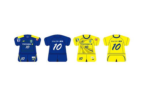 東京武蔵野シティFC 2019/2020モデル ユニフォーム型キーホルダー
