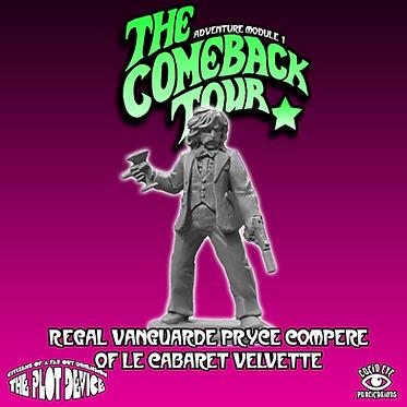 Regal Vanguarde Pryce Compere of Le Cabaret Velvette