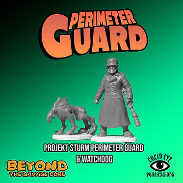 Projekt Sturm Perimeter Guard & Watchdog