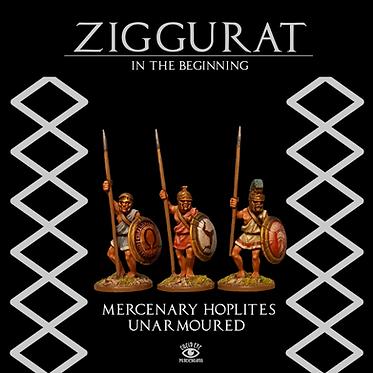 Mercenary Hoplites Unarmoured