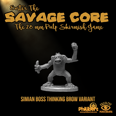 Simian Boss Thinking Brow Variant