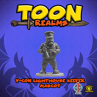 Y-Con Lighthouse Keeper Mascot
