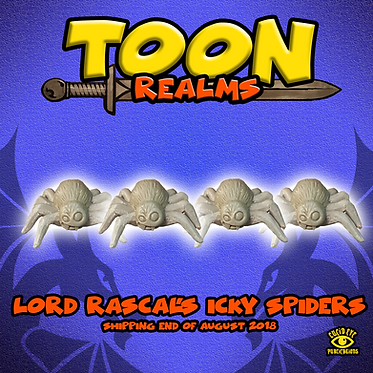 Lord Rascal's Icky Spiders