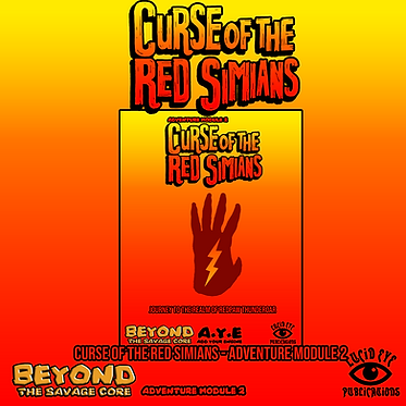 Curse of The Red Simians - Adventure Module 2