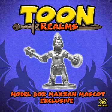 Model Box Maxzan Mascot