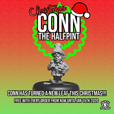 CHRISTMAS CONN THE HALFPINT! Christmas Promo Mini