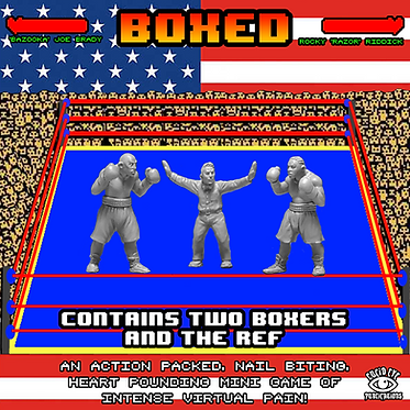 BOXED! BUNDLE - Contains two Boxers & a Ref