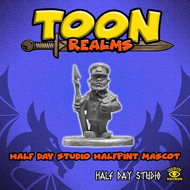 Half Day Studio Halfpint Mascot
