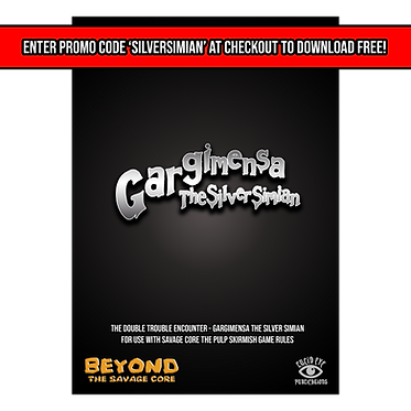 Gargimensa The Silver Simian - Double Trouble Encounter PDF