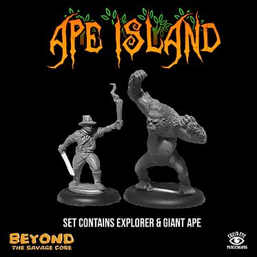 Ape Island Set