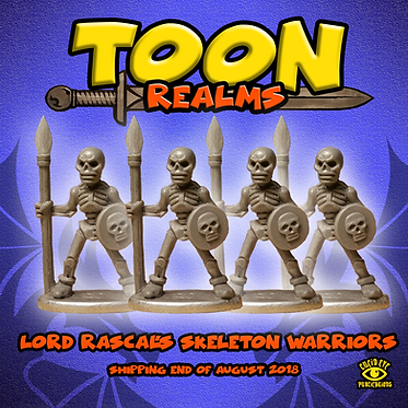 Lord Rascal's Skeleton Warriors