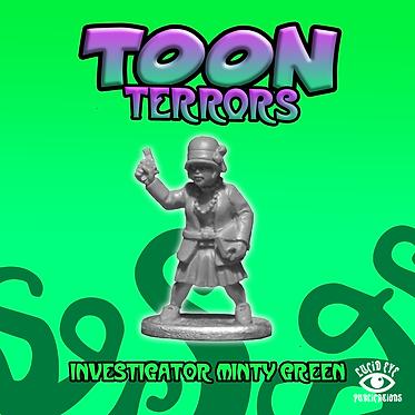Investigator Minty Green