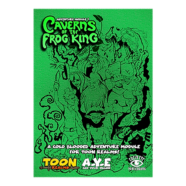 Caverns of The Frog King PDF