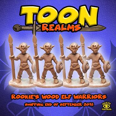 Rookie's Wood Elf Warriors