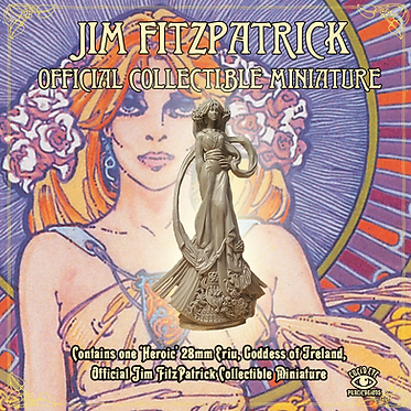 Jim FitzPatrick Official Collectible Miniature - Ériu, Goddess of Ireland