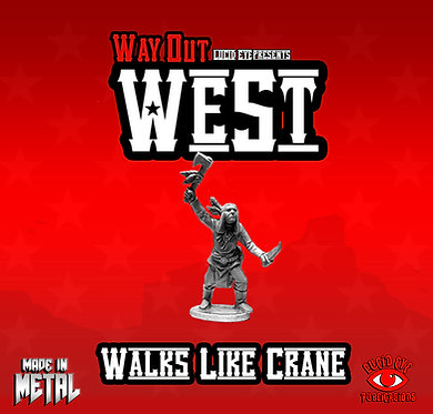 Walks Like Crane