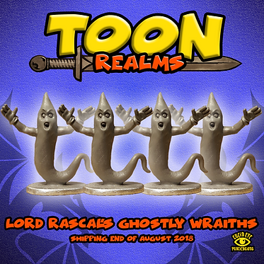 Lord Rascal's Ghostly Wraiths