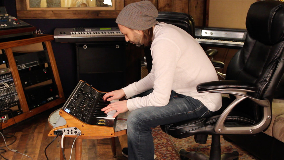 Kenny Cash tracking Synth solo