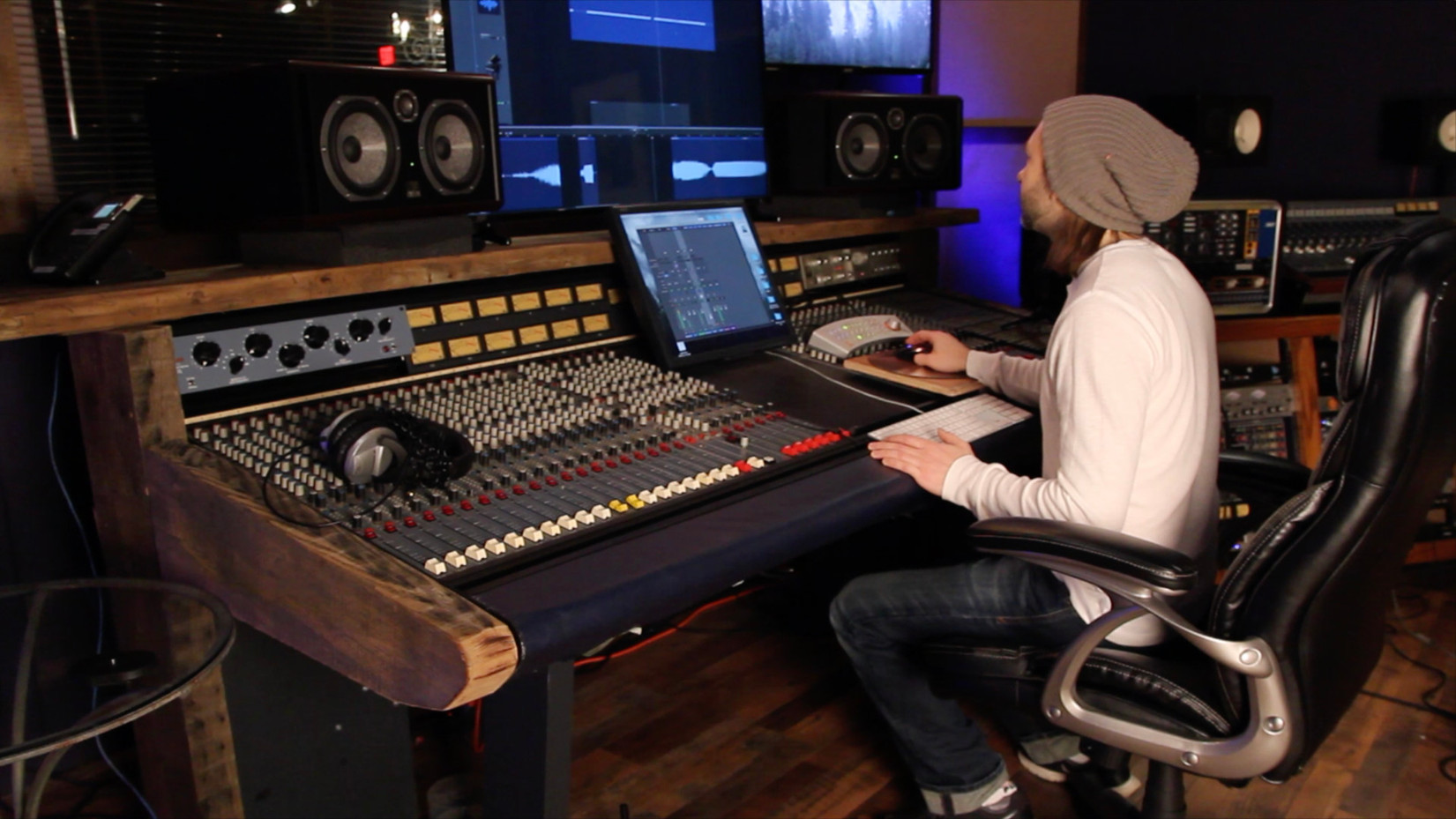 Kenny Cash mixing
