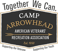 Camp Arrowhead American Veterans Logo 20