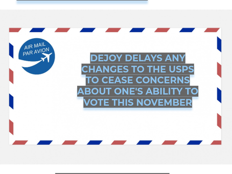 DeJoy Delays Any Changes To The USPS