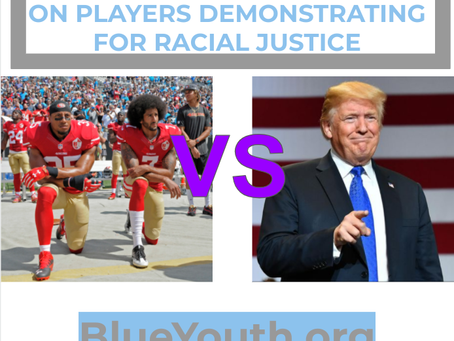 Trump Continues to Hate on Players Who Demonstrate for Racial Justice
