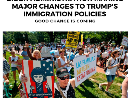 Biden Plans On Reversing Trump's Immigration Policies